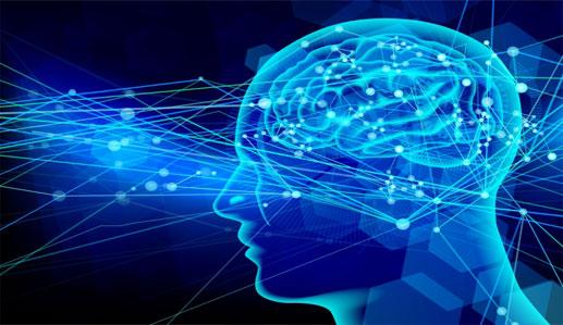 脳神経の伝達イメージ画像