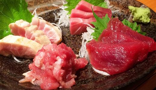 赤身魚の画像