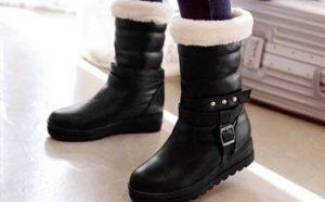 【女装靴】秋冬の女装にピッタリな大きめレディースブーツ!